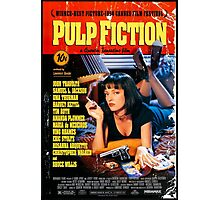 Pulp Fiction - Promotional Poster Photographic Print
