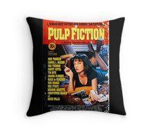 Pulp Fiction - Promotional Poster Throw Pillow