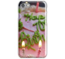 Happy 70th Birthday iPhone Case/Skin
