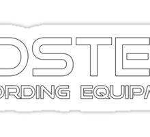 Fostex Recording Equipment Sticker