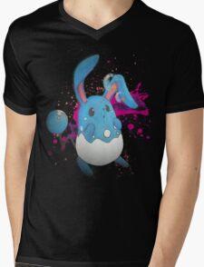 Azumarill likes bubbles Mens V-Neck T-Shirt