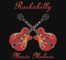 Rockabilly Music Makers Kids Tee