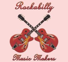 Rockabilly Music Makers Baby Tee