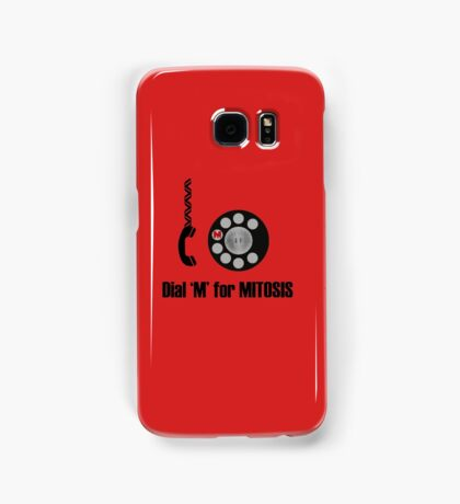Dial 'M' for Mitosis Samsung Galaxy Case/Skin