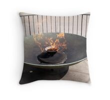 Eternal Flame Throw Pillow