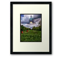 The Path To Tranquility Framed Print