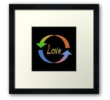 Love • 2008 Framed Print