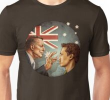 Abbott- - Shhh (circle) Unisex T-Shirt