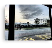 BUS STOP 5 Canvas Print