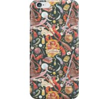 Gryffindor Pattern iPhone Case/Skin