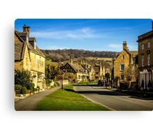 Broadway (Cotswold Village) Canvas Print
