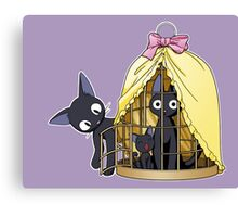 JIJI from Kiki's delivery service by Studio Ghibli Canvas Print