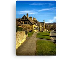 Broadway Village (Cotswolds) Canvas Print