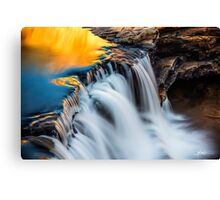 Molten Gold (Bell Gorge) Canvas Print