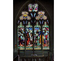 The Window at All Saints Misterton Photographic Print