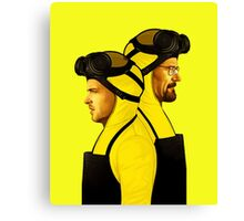 Breaking Bad Walter & Jesee Canvas Print