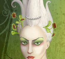 Venus-fly-trap by kath-deschamps