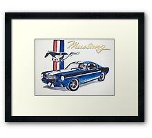 Ford Mustang Framed Print