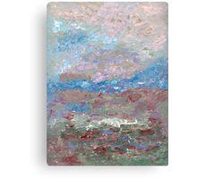 Impressionistic Field (acrylic) Canvas Print