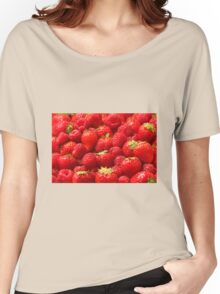 Red Berries Women's Relaxed Fit T-Shirt