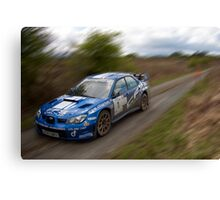 Rally of The Lakes 2010 - Last Years Winner Canvas Print