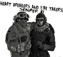 Semper Fi by Antifa