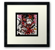 bleeding heart geisha Framed Print