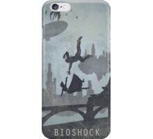 Bioshock Infinite Game Poster iPhone Case/Skin