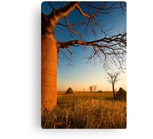 Where Time Expands Canvas Print
