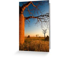 Where Time Expands Greeting Card
