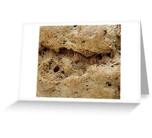 Bread Loaf, Freshly Baked Greeting Card