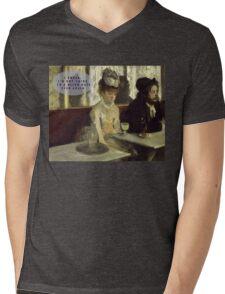 most boring date ever Mens V-Neck T-Shirt