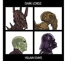 Dark Lordz - Villain Days by TheDickwraith