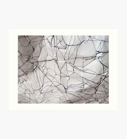 the creases revealed 2 Art Print
