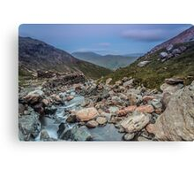 Just off the Miners Path Canvas Print