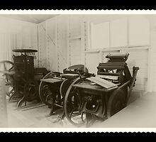 The Old Print Press by odarkeone