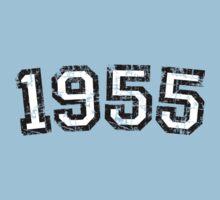 Year 1955 Vintage Birthday Baby Tee
