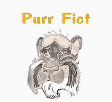 Purr Fict Womens Fitted T-Shirt