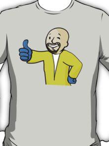 FALLOUT / BREAKING BAD - Heisenberg Vault Boy  T-Shirt