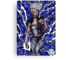 You afraid of a little thunder? Canvas Print