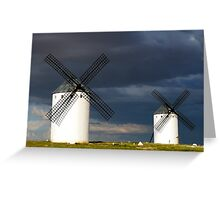 """The Route of """"Don Quijote"""" Greeting Card"""