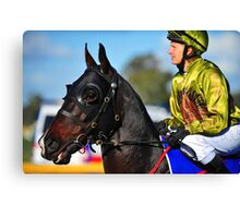 Anzac jockey Canvas Print