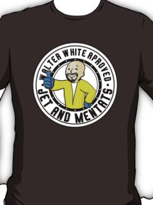 FALLOUT / BREAKING BAD - Heisenberg Vault Boy - WALTER WHITE APPROVED JET AND MENTATS T-Shirt