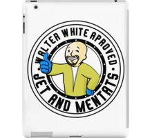 FALLOUT / BREAKING BAD - Heisenberg Vault Boy - WALTER WHITE APPROVED JET AND MENTATS iPad Case/Skin