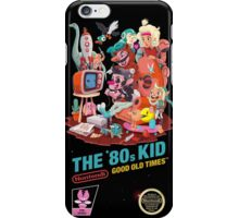 THE 80s KID iPhone Case/Skin