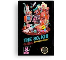 THE 80s KID Canvas Print