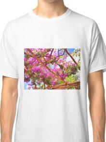 Positano's Purple Bougainvillaes Trellis Classic T-Shirt