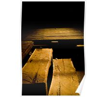 Shearing Shed Stairs Poster