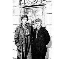 221 B Baker Street Photographic Print
