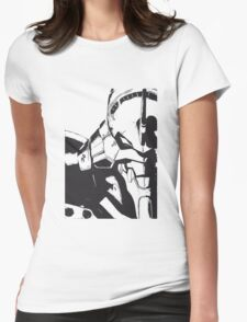 Evangelion Unit-01 Womens Fitted T-Shirt